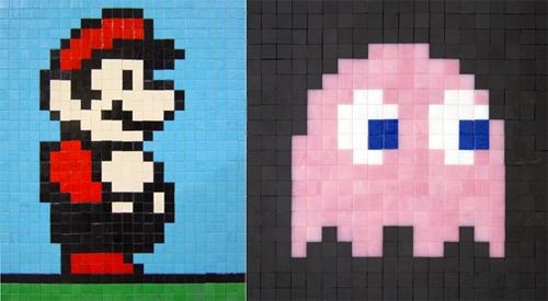 pixel art pacman